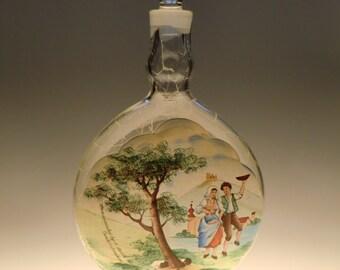 Czech Bohemian Haida-Borocrystal Glass Carafe