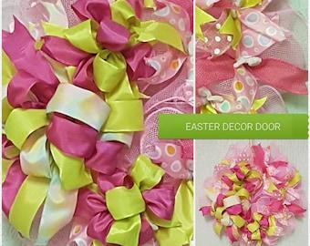 Easter/ girls  decor door / wall wreath