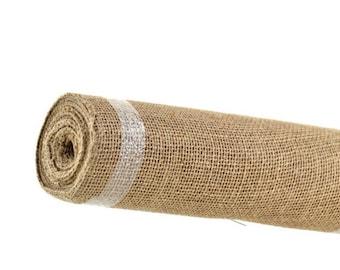 Raw Jute Natural Fabric 1 yard