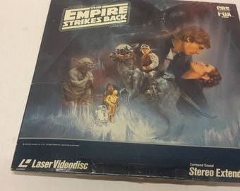 star wars the empire strikes back video disc  1984