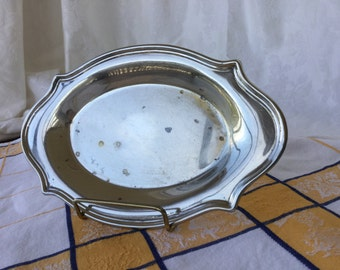 Silver plate tray, vintage