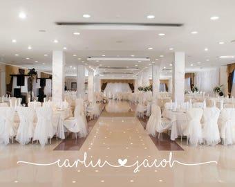 Gold wedding decor etsy wedding floor decal dance floor decal wedding decal wedding reception decor gold junglespirit Gallery