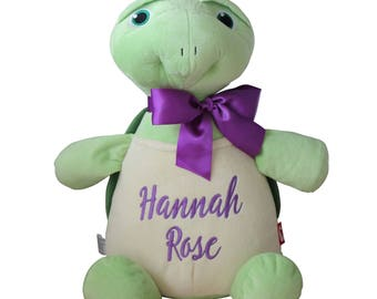Personalized Stuffed Animal, Turtle, Plush Toy