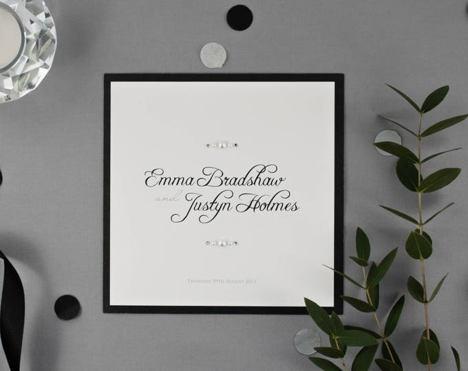Featured listing image: EMMA // Wedding Stationery // Invitation