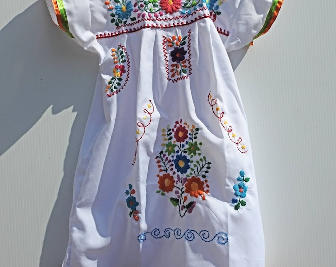 Little girl  mexican dresses