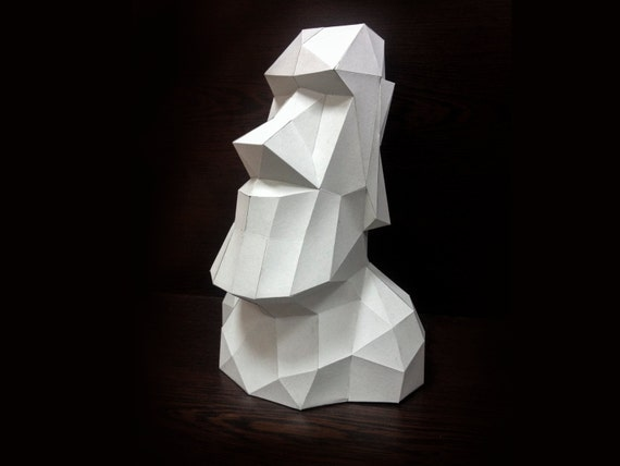 3d paper sculpture templates