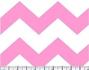 1 inch Chevron --- Pink Chevron ---- Light Pink Chevron --- Medium Chevron --- Fabric By The Yard