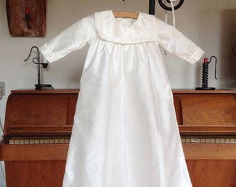 Noble christening gown for boys