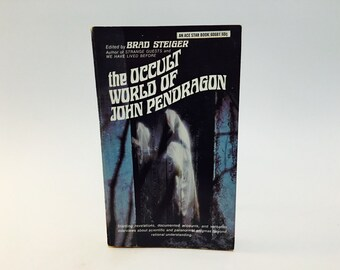 Vintage Occult Book The Occult World of john Pendragon Brad Steiger 1968 Paperback