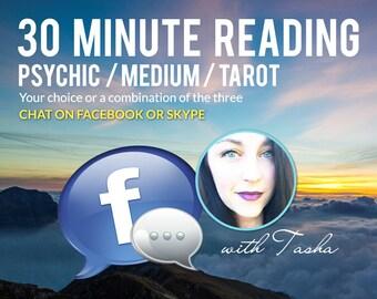 30 Minute Chat Reading - Psychic, Tarot, Medium Readings