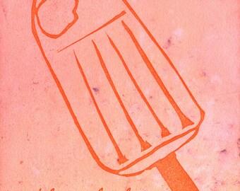Creamsicle Postcard