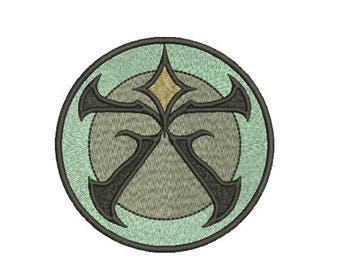 Machine Embroidery Design Instant Download - Pathfinder Grand Lodge Logo
