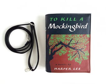To Kill A Mockingbird Book Bag Harper Lee Book Purse