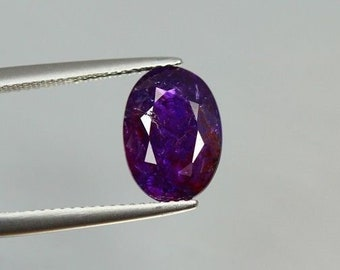 4.613 Ct Very Rare High End Color 100% Natural **certified** Unheated Sapphire