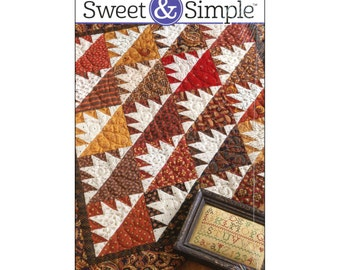 Pattern - Peaks and Valleys (S301) Sweet & Simple / Martingale Quilt Pattern