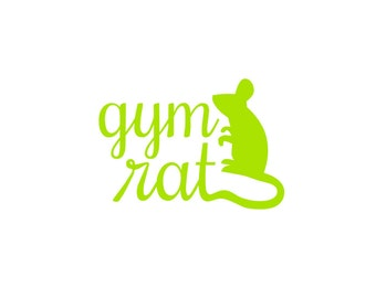 Digital Download File Gym Rat