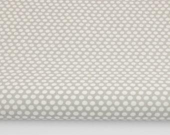Grey 100% cotton fabric printed 50 x 160 cm