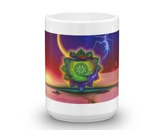 "Original Exclusive Deisgner Mug by Aditi-Kali ""Moon Dharma"""