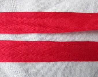 10 meters of Ribbon pink strap 1.5 cm