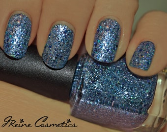 Gris-Gris - Blue Glitter Nail Polish LIMITED EDITION
