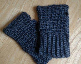Ready to Ship Crochet Fingerless Gloves