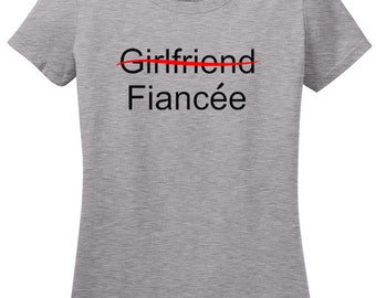 Fiancee T-Shirt, Customizable