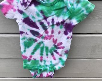 Tye Dye Onesie 3t - Custom