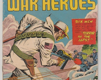 Army War Heroes, Vol 1, 10, Silver Age Comic Book. VG/FN (5.0). September 1965.  Charlton Comics.