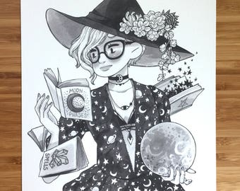 Even More Inktober Witches