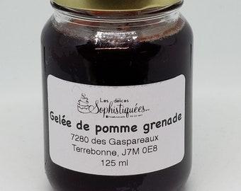 Gelée de pomme grenade