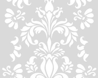 Maxi stencil artemioA3 SECRET GARDEN' botanical plant 29, 7x42cm