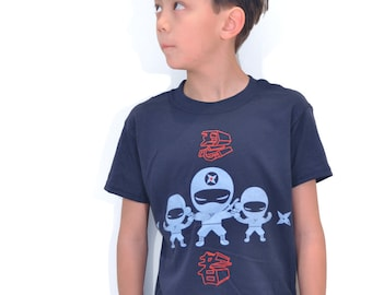 We are Ninjas boys Navy Tee