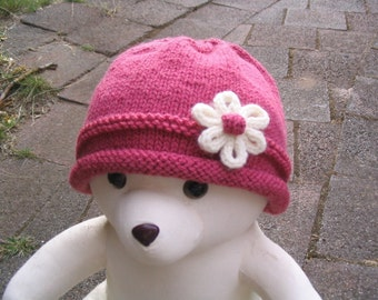 Baby Hat - Knitting Pattern PDF (baby toddler size)