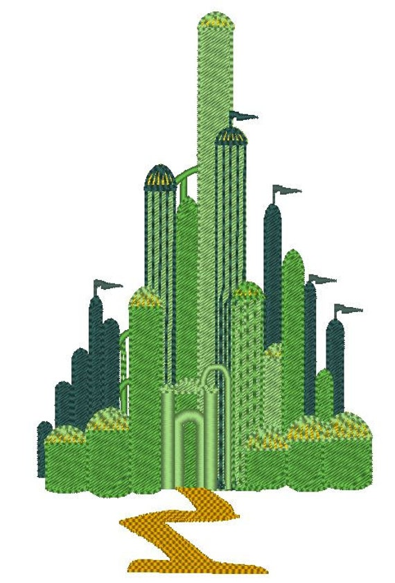 Emerald city the wonderful wizard of oz machine for Emerald city nickname