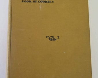 The Palatists Book of Cookery, The Assistance League of Southern California, 1933, Vintage Hollywood California Cookbook