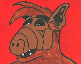 Alf portrait #1