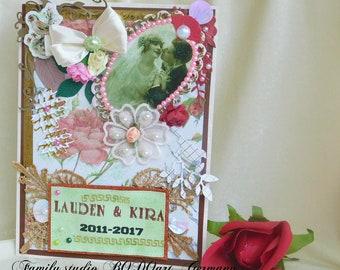 Iron Anniversary. Anniversary card. 6th Anniversary.Wedding anniversary. Wedding card. Iron wedding. 6th anniversary gift.Romantic card