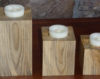 Tea Lite Candle Holder - Set #1