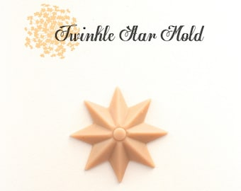 Silicone Mold Twinkle Star