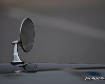 Mirror Image, Classic Car Prints, Vintage Car Photos, Photo Note Card, Car Photography, Still Life Photos, Automotive Photography, Mancave