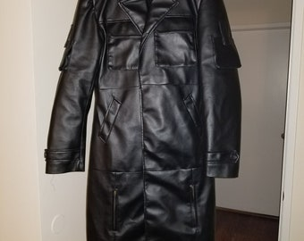 Punisher Frank Castle Trench Coat Cosplay