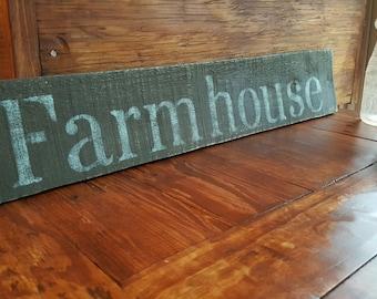 Farmhouse Sign, Farmhouse Decor, Farmhouse Wooden Sign, Rustic Decorations, Farm Decor, Country Home Decor, Rustic Decor, Country Decor