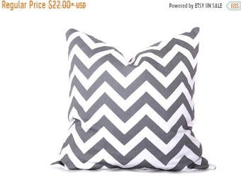 15% Off Sale PILLOWS,Gray Pillow Cover, Euro pillow cover, Chevron Pillow Covers Throw Pillow Cases Euro Pillow covers Gray Pillow Cover Acc