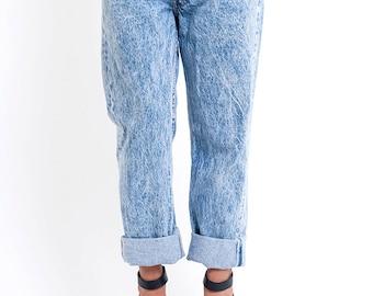 The Acid Wash Levi's Boyfriend Jeans