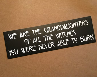The Witches Sticker