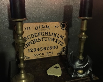 Vintage Ouija Board with Original Box and Planchette at Gothic Rose Antiques