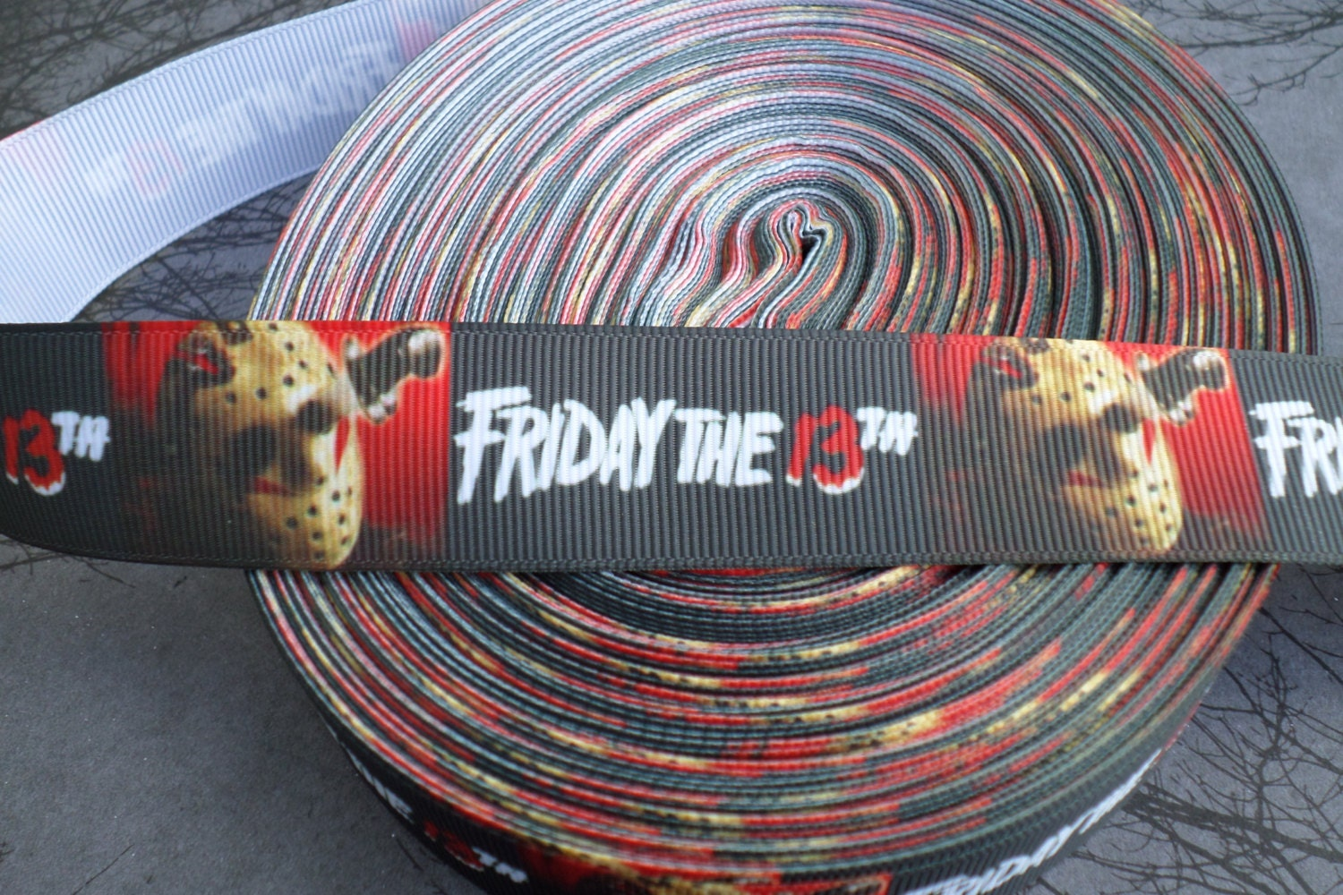 Jason Voorhees Friday the 13th Horror Grosgrain ribbon from ...