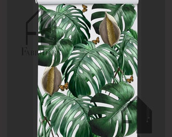 Tropical Vibes Cordless Roller Blind