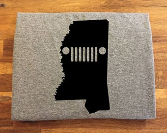 Mississippi Jeep Shirt