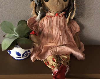 Folk at doll, prarie doll, primitive doll